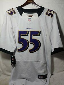 RARE WHITE NEW with tags NFL Baltimore Ravens Terrell Suggs Nike Jersey Men's 56