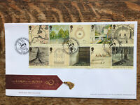 GB FDC 2004 The Lord Of The Rings, Battlefield Pmk
