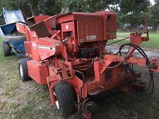 Flory 3600 Pecan Harvester Self Powered And Jack Rabbit Nut Cart