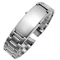 20mm Stainless Steel Replacement Strap Watch Bracelet for Omega Seamaster