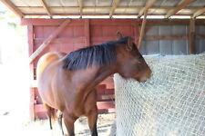 "Slow Horse Hay Round Bale Net Feeder 2"" Save $$ Eliminates Waste 4' x 8' Bales"