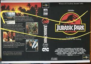 Spielberg's Jurassic Park - Australian video store mini-poster flyer