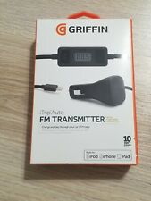 Griffin iTrip Auto Fm Transmitter Lightning Connector Brand New Never Opened