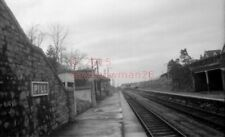 PHOTO  PILL RAILWAY STATION VIEW BETWEEN BRISTOL AND PORTISHEAD IN 1963  1