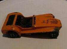 Vintage 1971 Hot Wheels distressed Lotus Super Seven Superfast Diecast Toy Car