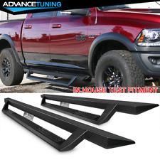 Fits 09-18 Dodge Ram 1500 10-18 2500 3500 Quad Cab Side Step Bar Running Boards