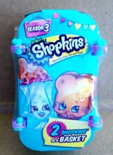 SHOPKINS SEASON 3 LIMITED EDITION COOL JEWEL 2 SHOPKINS IN BASKET