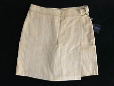 Burberry Golf Tan Wheat Corduroy Skort Skirt / Shorts Womens US 10 (UK 14) *NEW*