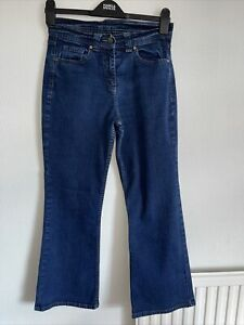 Ladies Stretch, Quality, Slight Bootleg Jeans Ny M&S, size 10 . Ex condition.