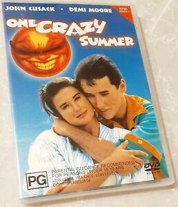 One Crazy Summer DVD *MEGA RARE* John Cusack 1980s Cult Comedy Movie 80s