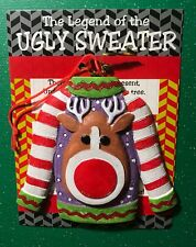 Legend Of The Ugly Christmas Sweater Box Of 12 Ornaments
