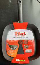 T-fal Simply Cook 10.25 In Square Grill Pan New