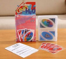 UNO H2O Playing Clear Card Game Waterproof Beach with Case by JCT ECO