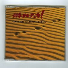 MAXI CD PROMO SINGLE (NEUF) JEAN LOUIS MURAT COURS DIRE AUX HOMMES FAIBLES