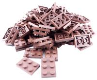 Lego 5 Stück 3020 2x4 Plate platte transparent klar clear höchst selten NEUWERTI