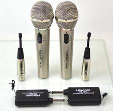 Microfonos Inalambricos Portable Con 2 En 1 Microfono Para Karaoke Y Fiestas 2Pk