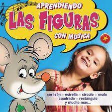 Aprendiendo Las Figuras Con Musica by Various Artists (CD, 2006)