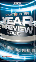 Sportscenter Year in Review 2006 BRAND NEW DVD WITH SLIP COVER BUY 2 GET 1 FREE