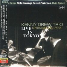 KENNY DREW-KENNY'S MUSIC STILL LIVE ON LIVE IN TOKYO-JAPAN MINI LP CD B50