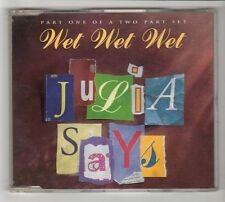 (HC222) Wet Wet Wet, Julia Says - 1995 CD