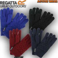 Regatta Merle Knit Fleece Lined Kids School Winter Playing Running Warm Glove