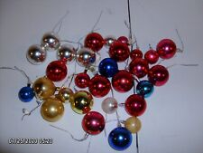 Lot of 30 Vintage mercury pick ornaments