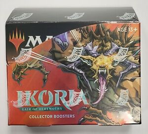 Magic The Gathering- Ikoria Lair of Behemoths Collectors Booster box Sealed