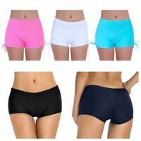 Women's Trunks Surf Boardshorts Boyleg Shorts Beach Pants Swim Bikini Bottoms