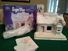 New ListingPrecious Moments Sugar Town Lighted Train Station 150150