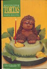 CAKE DECORATING Marta Ballina Magazine 1995 #4 Argentina