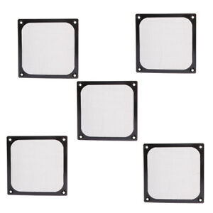 5pcs 120mm Dustproof Case Fan Dust Filter Guard Grill Protector Cover for PC