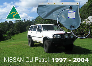 NISSAN GU Patrol (1997-2004) 40L Rear Qtr Panel Water Bladder