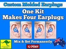 2 Pairs 1 Kit =More Than Radians DIY Ear Plugs Moulded Custom Molded Earplugs AU