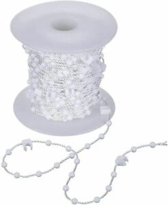 Vertical Blind Beaded Clip Bottom Chain -  89mm/3.5inch  - 10 Metre !!!