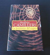 La pazienza del ragno - Andrea Camilleri - Edizione Rilegata -