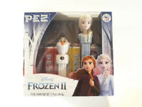 FROZEN II PEZ Dispensers ELSA AND OLAF 2 Pack Gift Box - NEW
