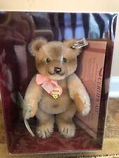 "Vintage NRFB Steiff Replica 1953 Jackie Teddy Bear 10"" #000788  W/ COA NEW"