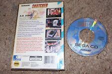 Snatcher (Sega CD) w/ Case