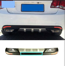 ABS Rear Bumper Diffuser Spoiler Lips Fit for  Chevrolet cruze 2009-2014 1PCS
