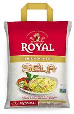 ROYAL SELLA India Parboiled Basmati Rice Extra Long Grain Rice Non-GMO 10
