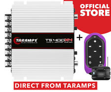 Taramps TS 400x4 Watts 2 Ohms Amplifier 400W RMS + Tlc Control Violet