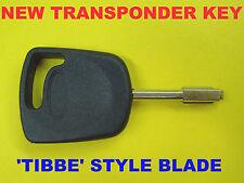 NEW S-Type X-Type XJ8 Tibbe Blade Transponder Key Blank  FO21T7 4D 60 Glass Chip