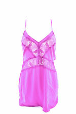 L'Agent by Agent Provocateur Women's Jada Soft Lace Slip Purple RRP £95 BCF88