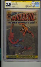 DAREDEVIL #16 CGC 3.0 SS SIGNED STAN LEE 1ST ROMITA SPIDER-MAN ART