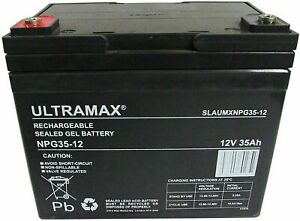 Ultramax Rechargeable Sealed Lead Acid - AGM - Vrla Batteries Ride on Toy Car