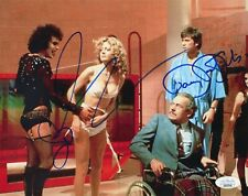 SUSAN SARANDON & BARRY BOSTWICK Hand-Signed ROCKY HORROR 8x10 Photo (JSA COA)