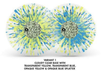 Fallout 3 10th Anniversary Yellow Blue Splatter Edition Vinyl Soundtrack 3x LP