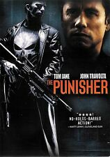 The Punisher ~ Thomas Jane John Travolta ~ DVD WS ~ FREE Shipping USA
