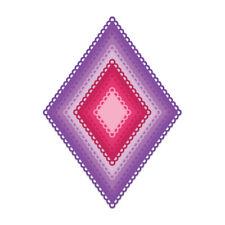 Heartfelt Creations Spellbinders Die ~ EYELET DIAMOND ~ HCD1-7227