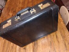 vintage CANTERBURY Brown Leather Lawyer Briefcase